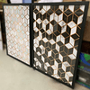 Conjunto de Quadros Abstratos Murais - Alteração de valores por medidas