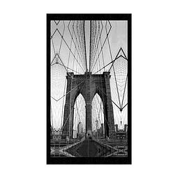 Quadro Old Bridge - Alteração de valores por medidas