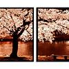Conjunto de Quadros Cerejeira -  Alteração de valores por medidas