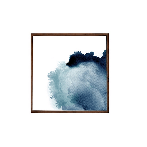 Conjunto de Quadros Blue Festival - Par - Alteração de valores por medidas