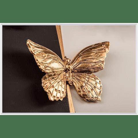 Quadro Golden Butterfly - Alteração de valores por me
