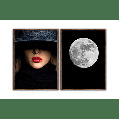 Conjunto de Quadros Separados Secrets - Alteração de valores por medidas