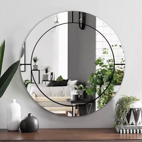 Quadro Espelho Bubble - Alteração de valores por medidas