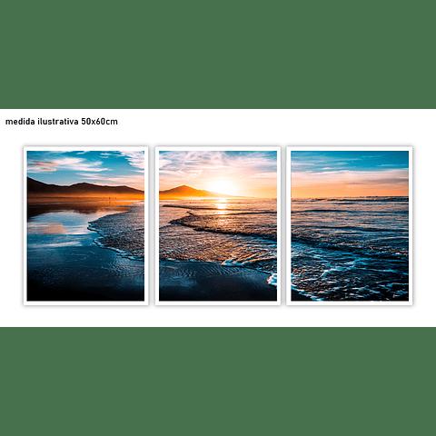 Trio de Quadros Separados  Fuente - Alteração de valores por medidas