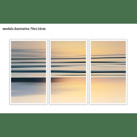 Trio de Quadros Separados  Fylling - Alteração de valores por medidas
