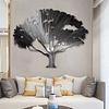 Escultura de Parede em Aço Inox Tree - Alteração de valores por medidas