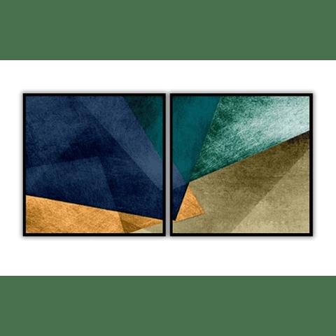 Conjunto de Quadros Efesto - Alteração de valores por medidas