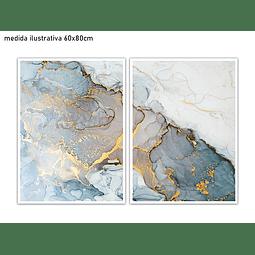 Conjunto de Quadros Separados Olívia - Alteração de valores por medidas