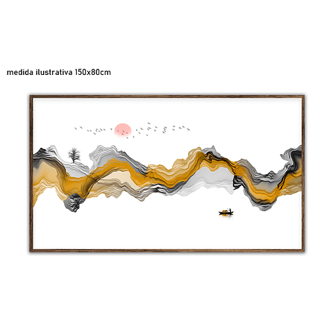 Quadro Ocean - Alteração de valores por medidas
