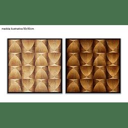 Conjunto de Quadros Separados Hourglass - Alteração de valores por medidas