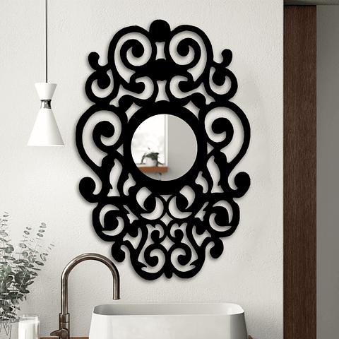 Quadro Espelho Tashma - Alteração de valores por medidas
