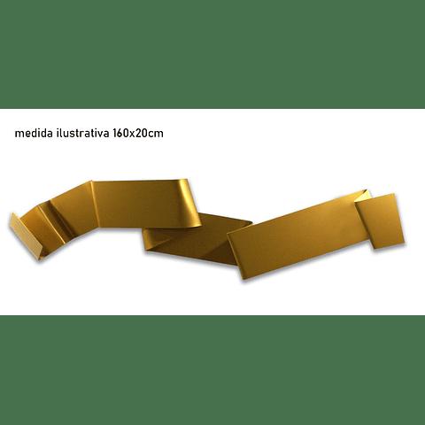 Escultura em Acrílico Cartelle - Alteração de valores por medidas