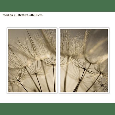 Conjunto de Quadros Chiara - Alteração de valores por medidas