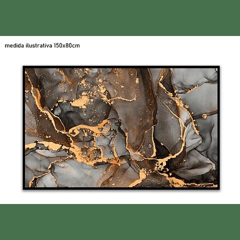 Quadro Decorativo Luna - Alteração de valores por medidas