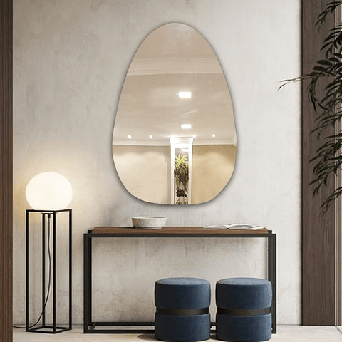 Quadro Espelho Riley sem moldura - Alteração de valores por medidas