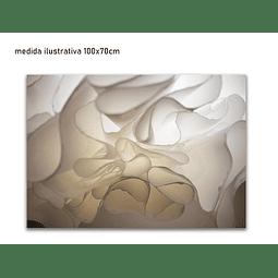 Quadro Metacrilato Evelyn - Alteração de valores por medidas
