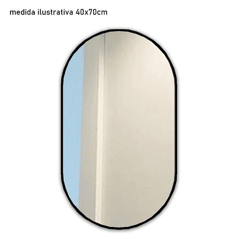 Quadro Espelho Genevra  - Alteração de valores por medidas