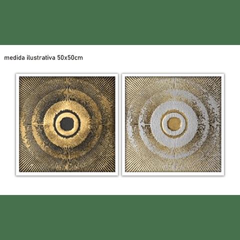 Conjunto de Quadros Talisman - Alteração de valores por medidas