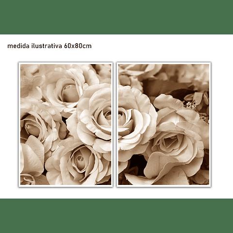 Conjunto de Quadros Separados Alba - Alteração de valores por medidas