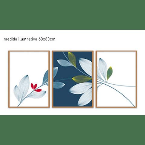 Trio de Quadros Separados Ania - Alteração de valores por medidas