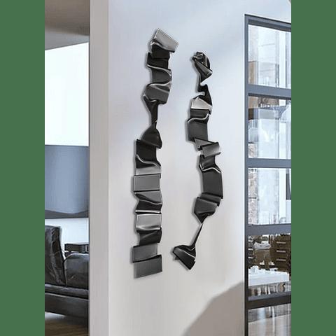 Escultura em Acrílico Design - Alteração de valores por medidas