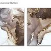Conjunto de Telas  em canvas Petra - Alteração de valores por medidas