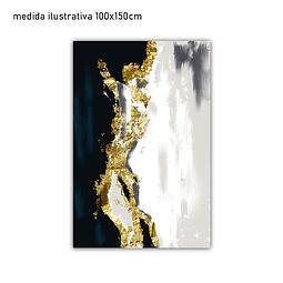 Tela em Canvas Glitter - Alteração de valores por medidas