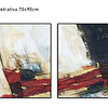 Conjunto de Telas  em Canvas Cepillo- Alteração de valores por medidas