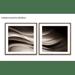 Conjunto de Quadros Separados Row - Alteração de valores por medidas