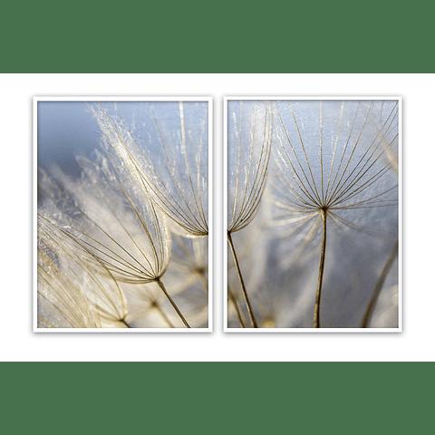 Conjunto de Quadros Separados Ella - Alteração de valores por medidas