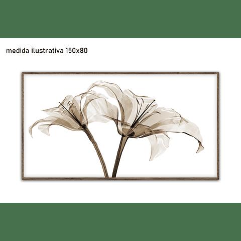 Quadro Decorativo Clara - Alteração de valores por medidas