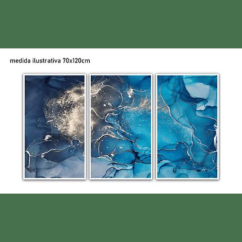 Trio de Quadros separados Clover - Alteração de Valores por medidas