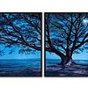 Conjunto de Quadros Blue Tree  -  Alteração de valores por medidas