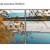 Conjunto de Telas  em Canvas Island - Alteração de valores por medidas