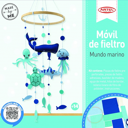 Set Móvil Decorativo Mundo Marino