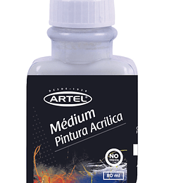 Medium Pintura Acrilica 80ml Artel