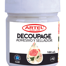 Adhesivo & Sellador Decoupage 100ml Artel