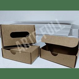 Caja para Tarjetas de Visita Artesanal Paq 10und