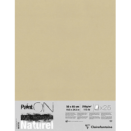 Paint'On Mixed Media - Naturel Pad - 25 hojas sueltas