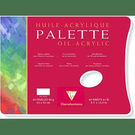 Paleta para Óleo y Acrílico - 2 Tamaños