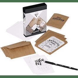 Caja Creativa Lettering - Clairefontaine
