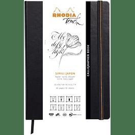 Cuaderno forrado rígido Rhodia Calligrapher 21 x 29, 7 cm