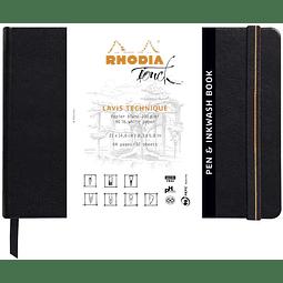 "Rhodia Touch ""Pen & Inkwash book"""