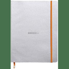 Cuaderno flexible 190 x 250 mm - Color Plata
