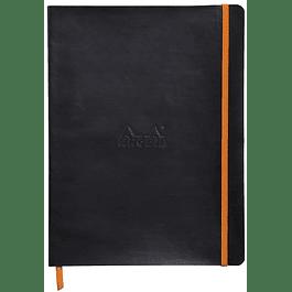 Cuaderno flexible 190 x 250 mm - Color Negro