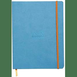 Cuaderno flexible 190 x 250 mm - Color Turquesa