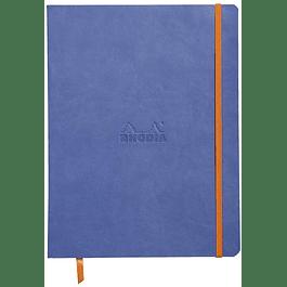 Cuaderno flexible 190 x 250 mm - Color Zafiro