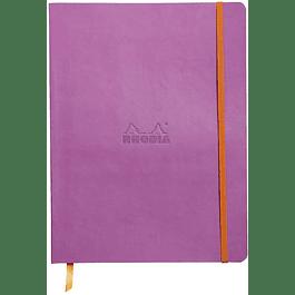 Cuaderno flexible 190 x 250 mm - Color Lila