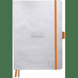 GoalBook Tapa Blanda Puntos Hojas Blancas - 14,8 x 21 cm - (Colores)