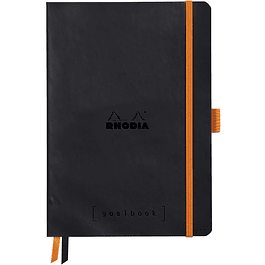 Cuaderno Rhodia GoalBook - 14,8 x 21 cm - Color Negro